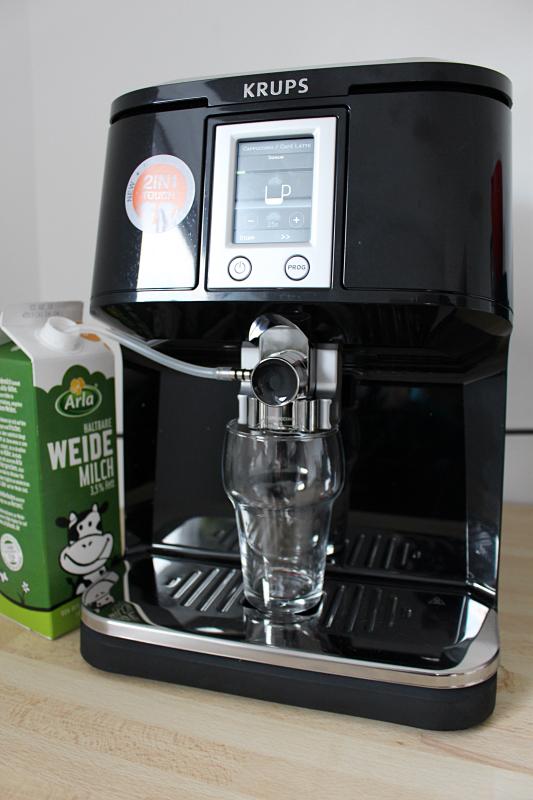 latte1 - Krups 2in1 Touch Kaffeevollautomat