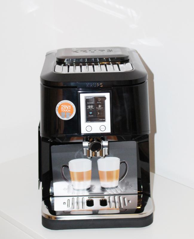 krups 2in1 touch kaffeevollautomat kurzvor produkttests. Black Bedroom Furniture Sets. Home Design Ideas