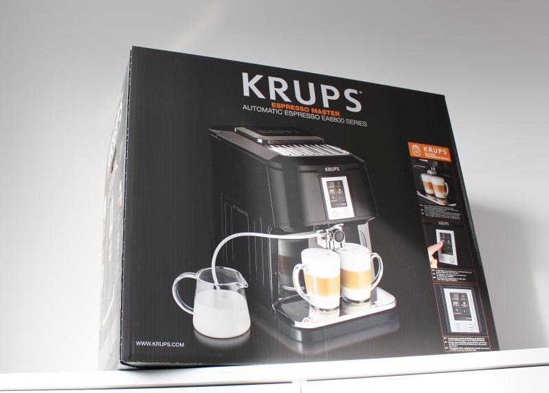 verpack unten - Krups 2in1 Touch Kaffeevollautomat
