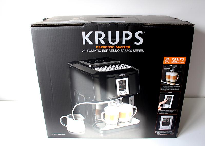 verpack vorne - Krups 2in1 Touch Kaffeevollautomat