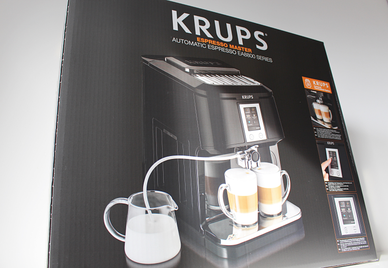 verpackung  - Krups 2in1 Touch Kaffeevollautomat
