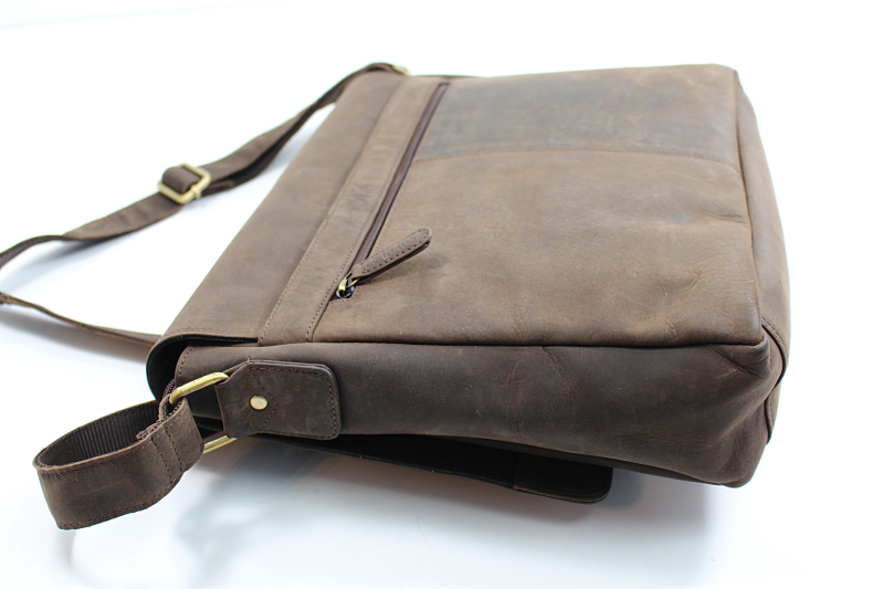 seitlich2 - Leabags Messenger Bag Oxford