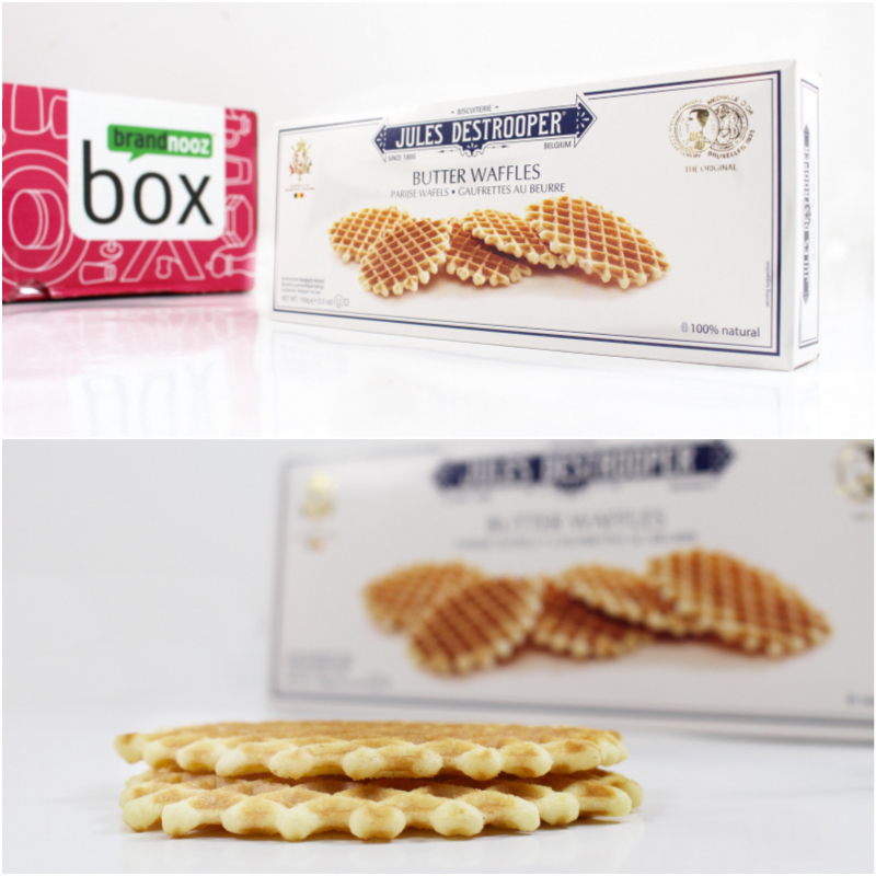 waffel mix - brandnooz Genuss Box Januar 2016