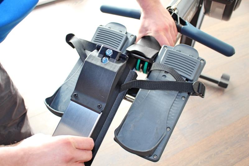 auseinanderbauen - Concept2 Modell D Rudergerät