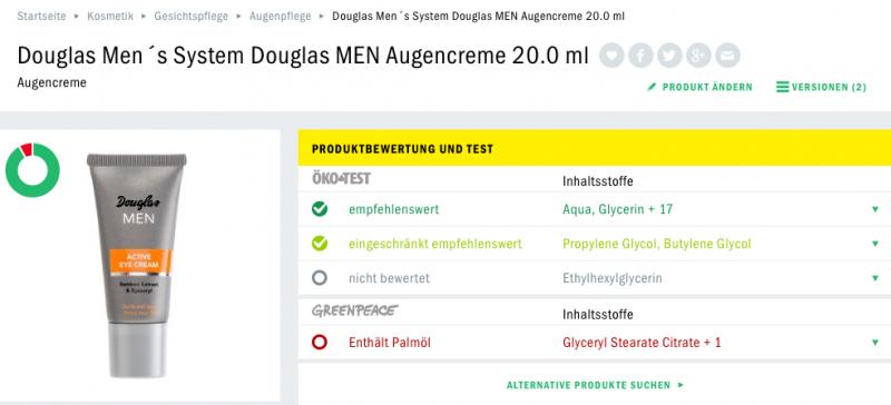 Douglas codecheck