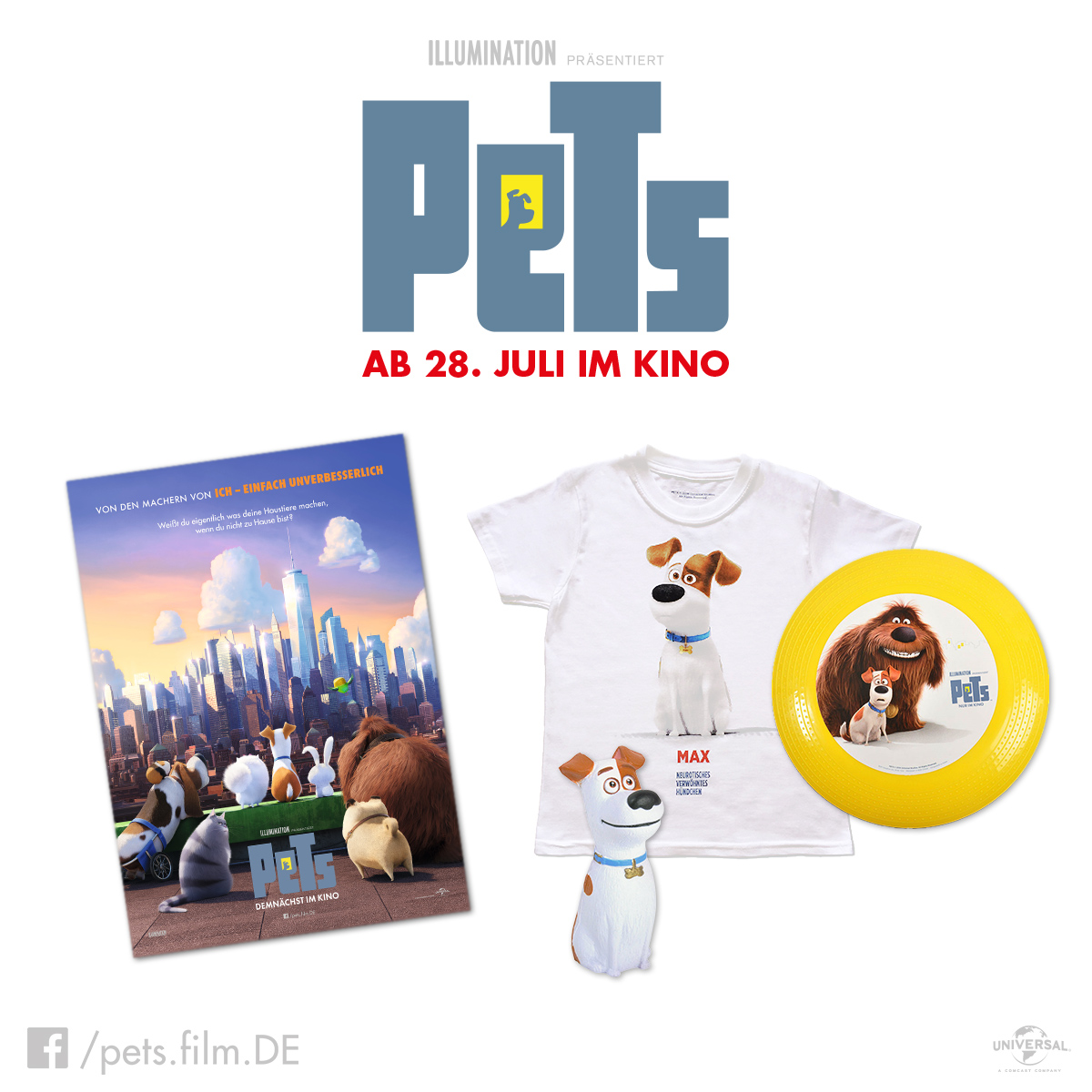 Pets Gewinnspiel - Pets Filmvorstellung & Gewinnspiel