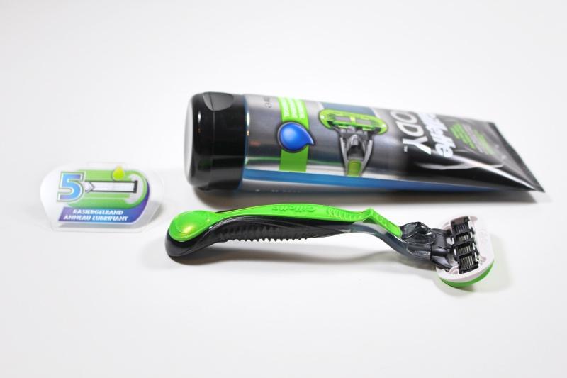 ende - Gillette Body5 Körper-Rasierer & Gel
