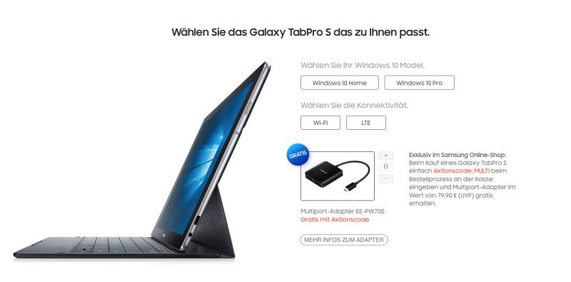 update - Samsung Galaxy Tab Pro S Fazit