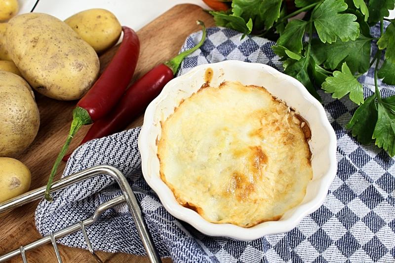 Kartoffelgratin close