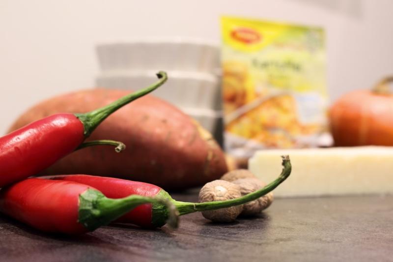 Kartoffelgratin gemuese