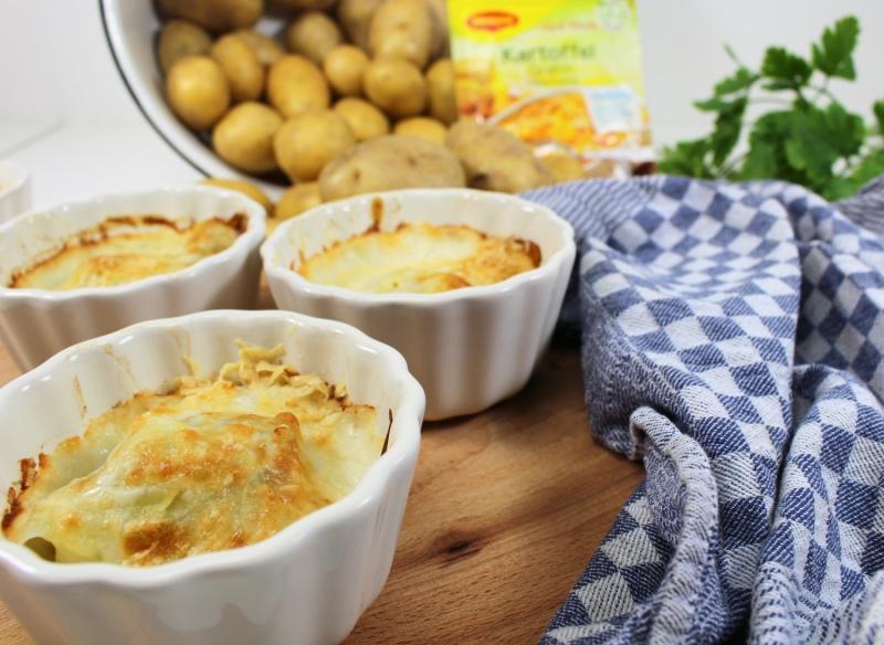 halbtotal - MAGGI fix & frisch Kartoffelgratin