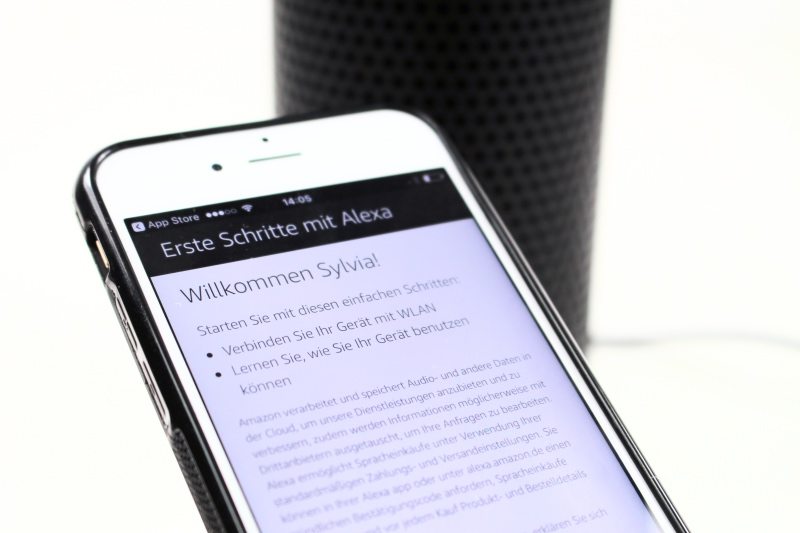 app3 - Amazon Echo - Erste Schritte