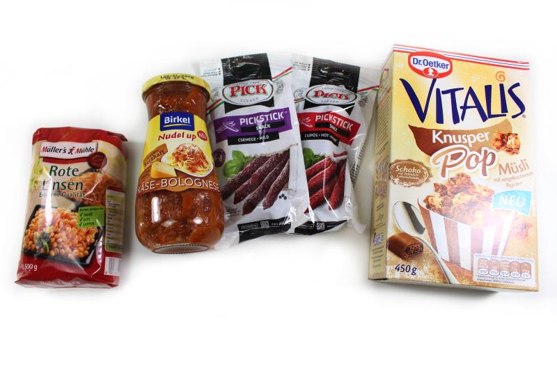 food 1 - Lust auf lecker - goodnooz Box Januar 2017
