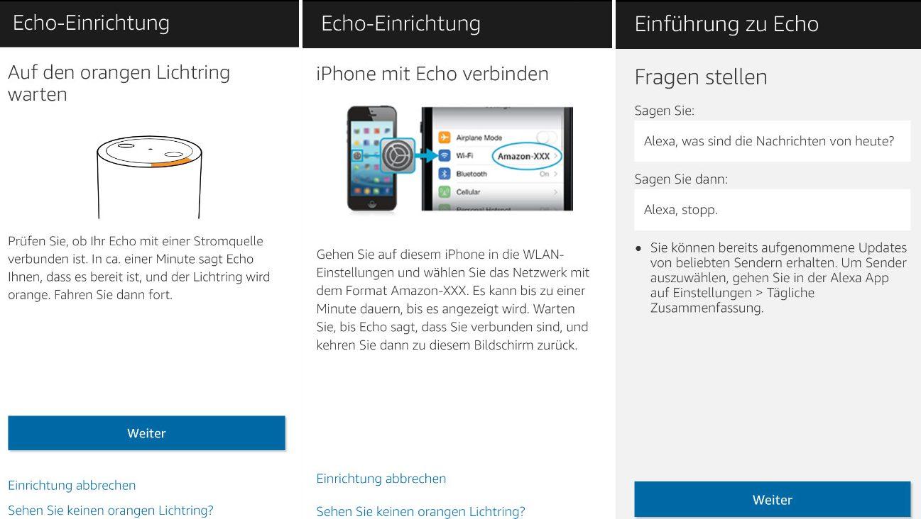 handy e1484409383568 - Amazon Echo - Erste Schritte