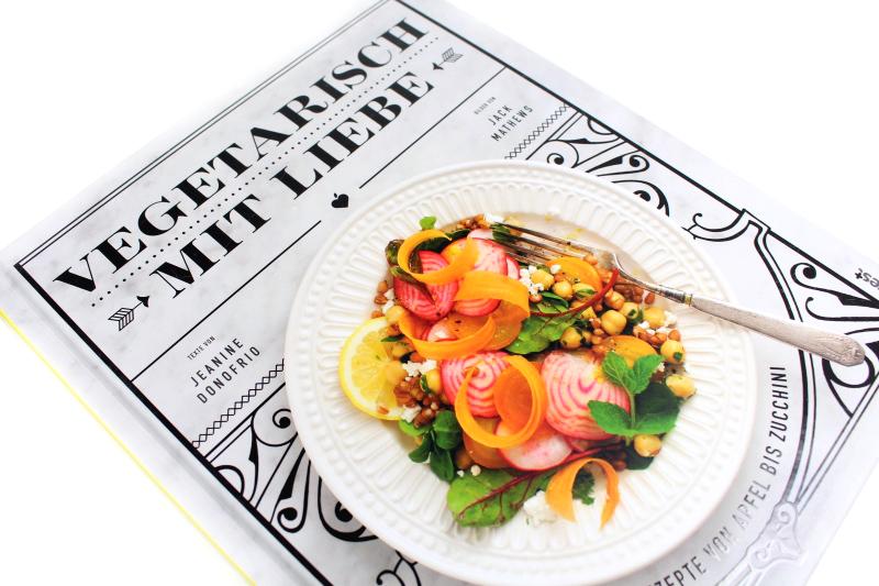 veg 3 - Vegetarisch mit Liebe Kochbuch