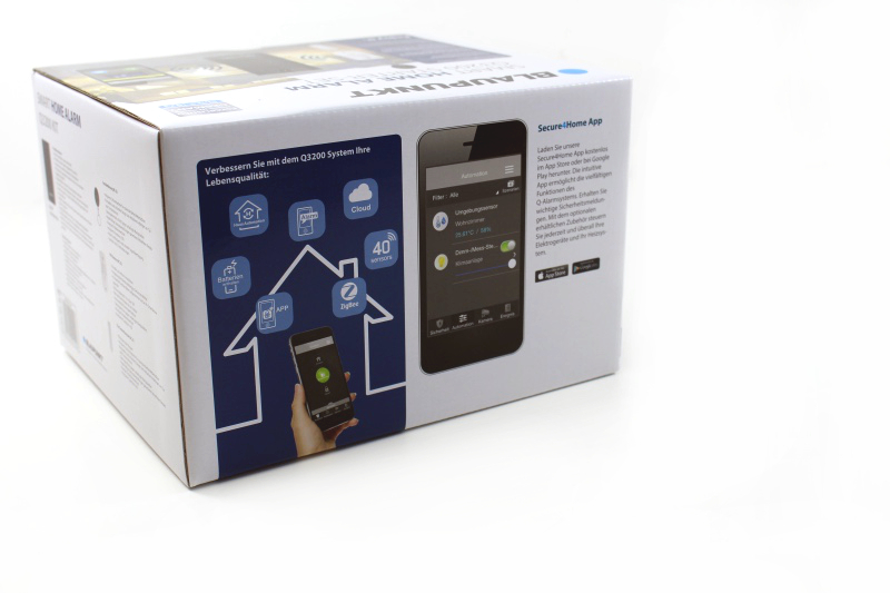 verpackung - Blaupunkt Smart Home Security Visual Monitoring Set