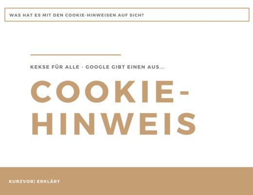 Cookie 520x400 - Brauche ich einen Cookie Hinweis?