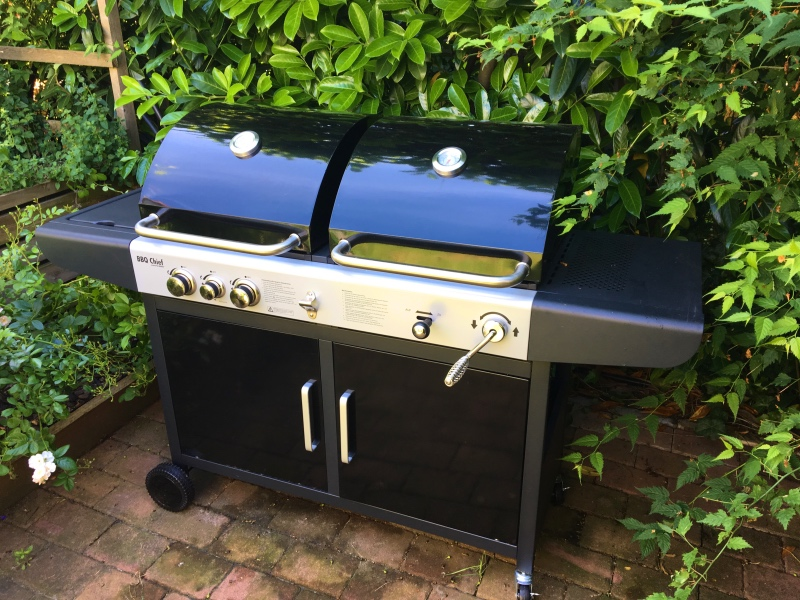 Gas Holzkohlegrill Kombi : Kombigrill gasgrill holzkohlegrill grill bbq barbeque neu in st