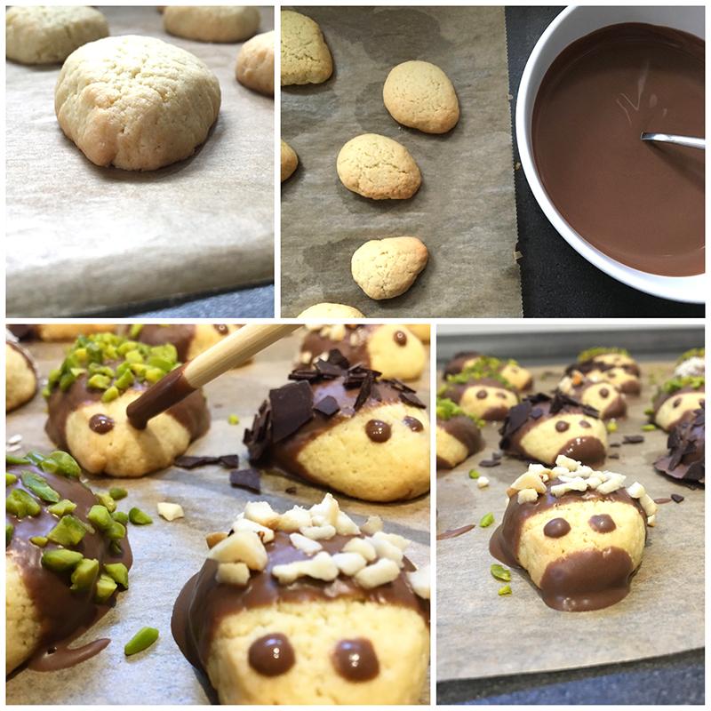 Anleitung Igel Kekse