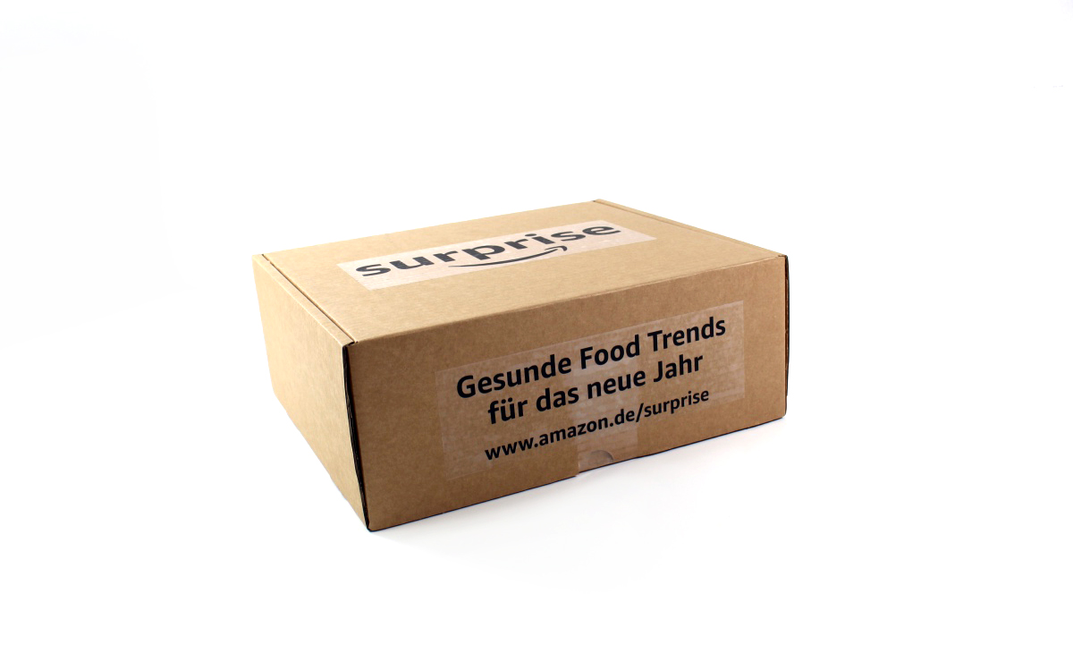 verpackung - Amazon Surprise New Year, New You