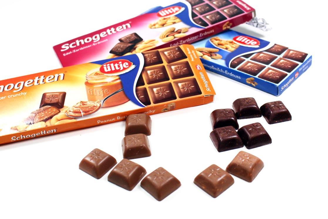 "oben - Schogetten ""ültje"" Erdnuss Limited Edition"