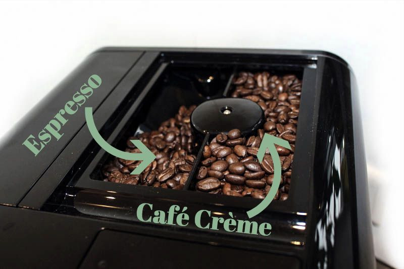 bohnen schrift - Melitta Barista TS Smart Kaffeevollautomat