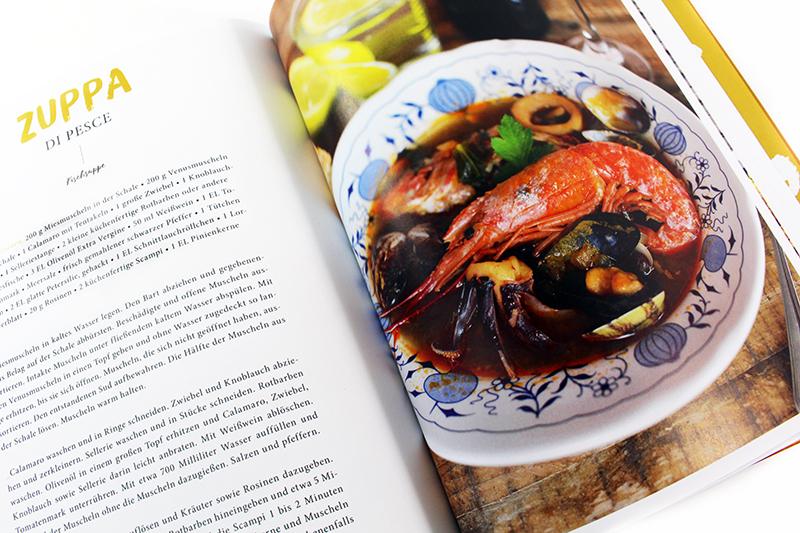 fischsuppe - Das Sizilien Kochbuch & Gewinnspiel