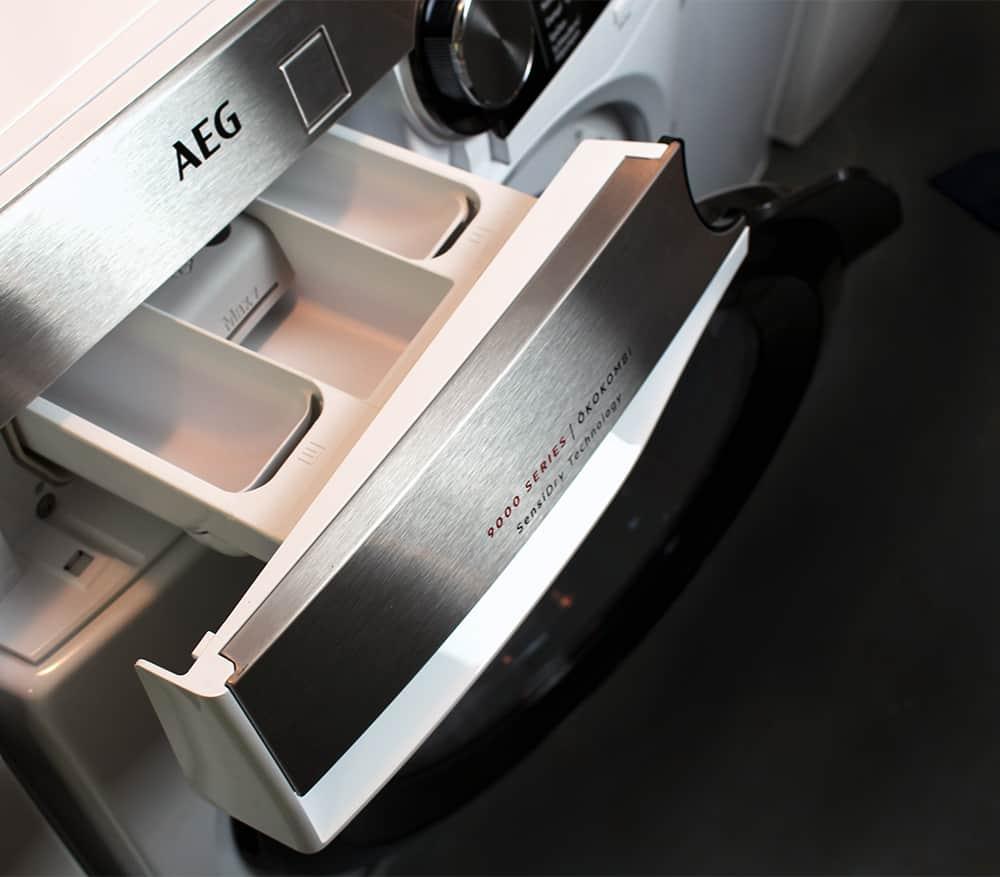 korb - Der Waschtrockner von AEG im Test