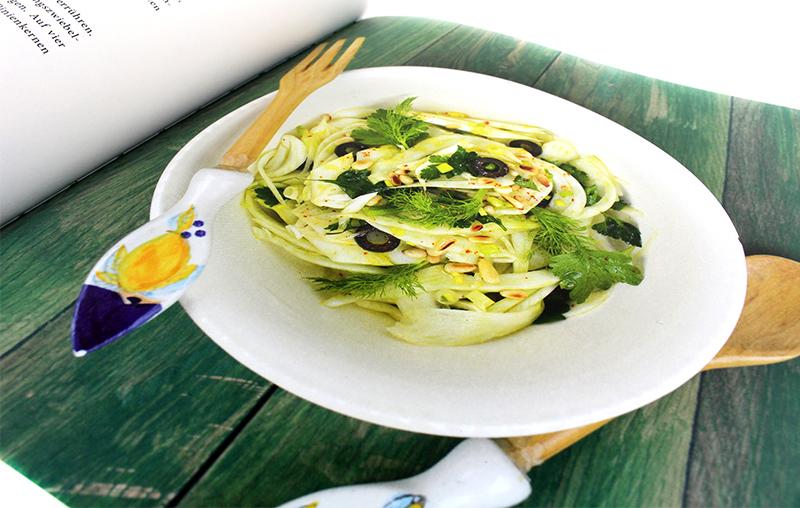 salat - Das Sizilien Kochbuch & Gewinnspiel