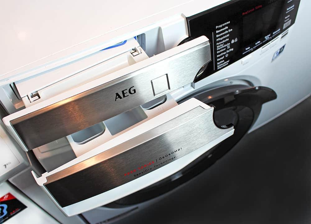 total flusen - Der Waschtrockner von AEG im Test