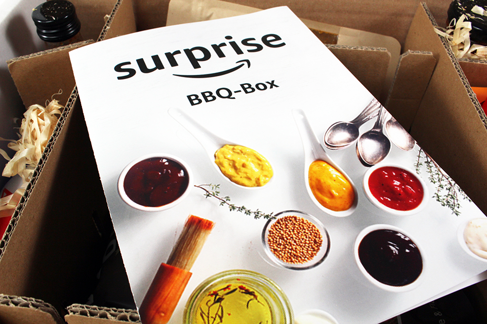 cover - Unpacking Amazon Surprise BBQ-Box