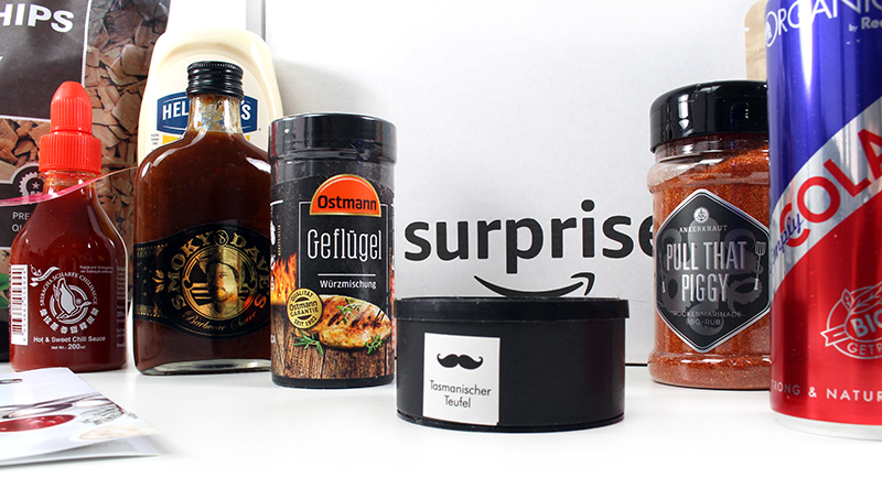 total - Unpacking Amazon Surprise BBQ-Box