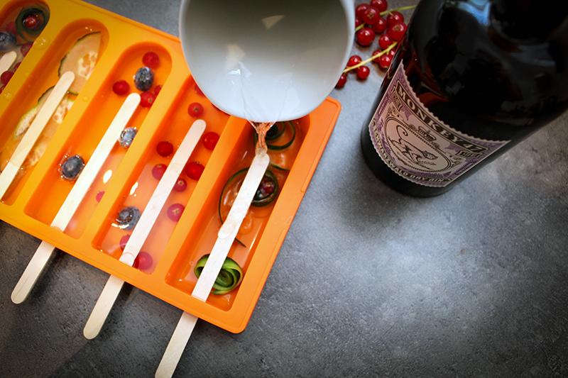 einfuell - Gin Tonic Eis - Cocktail am Stiel