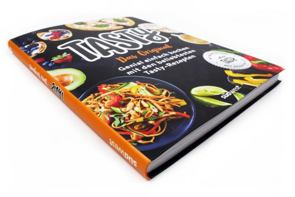 cover seite - Das Tasty Kochbuch & Gewinnspiel