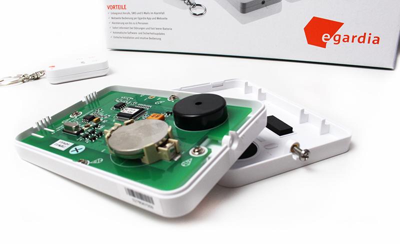 offen - Egardia Smart Home Sicherheitsset mit Philips Hue