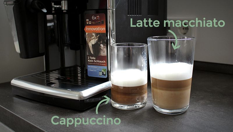 beide schrift - Philips Kaffeevollautomat mit LatteGo