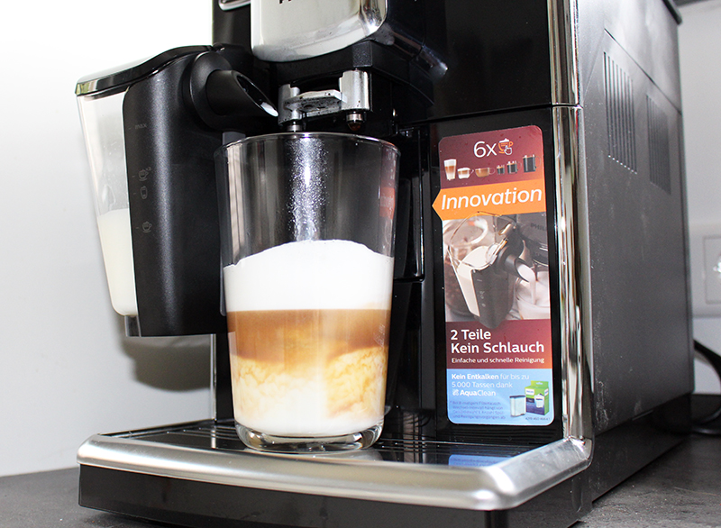 total - Philips Kaffeevollautomat mit LatteGo