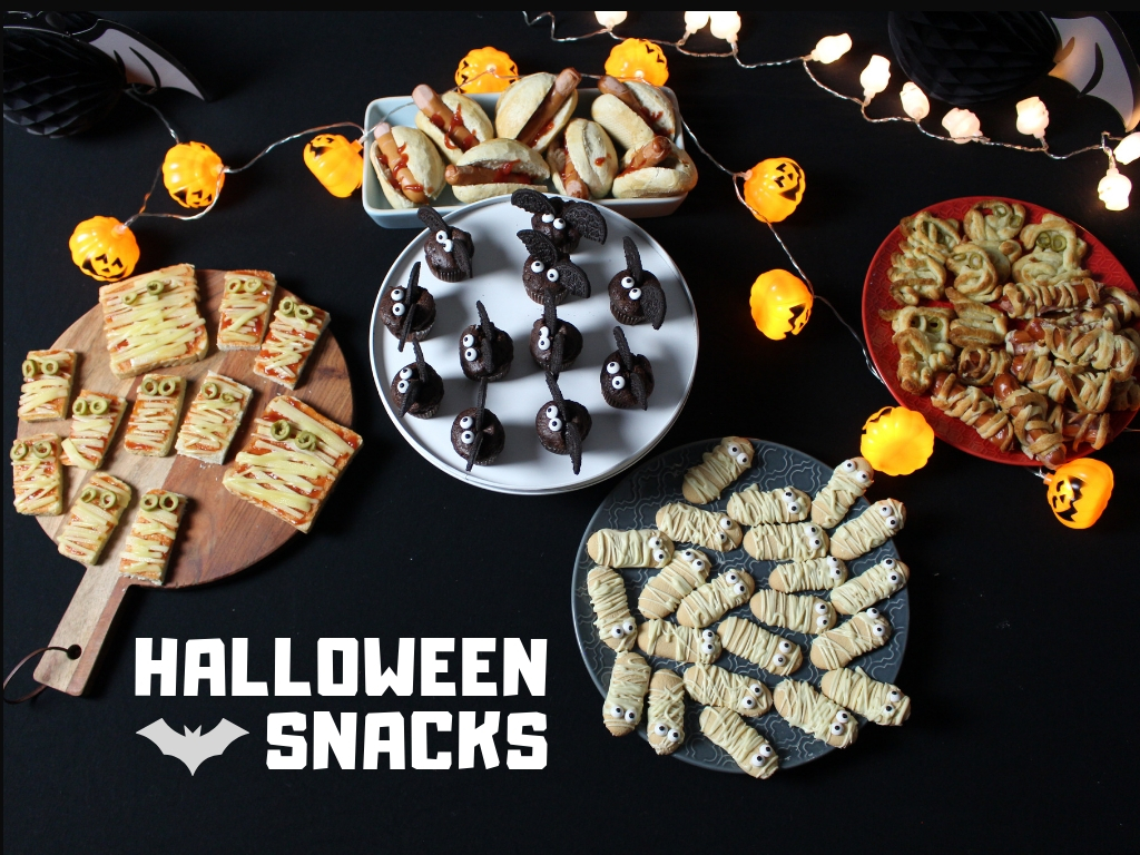 HALLOWEEN1 - Halloween Snacks für die perfekte Party