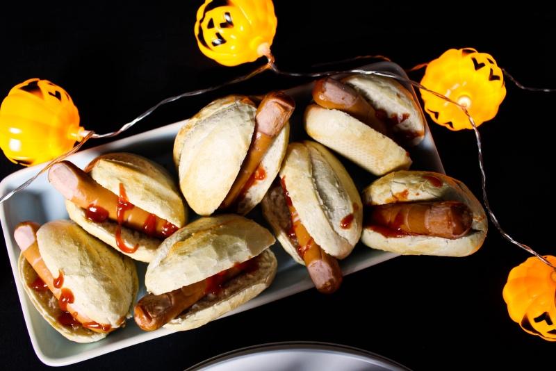 finger gut - Halloween Snacks für die perfekte Party