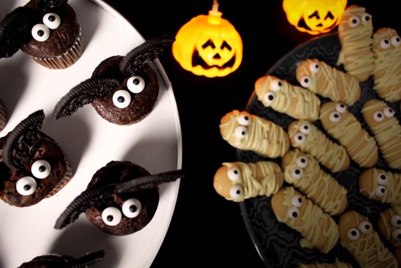 oben - Halloween Snacks für die perfekte Party