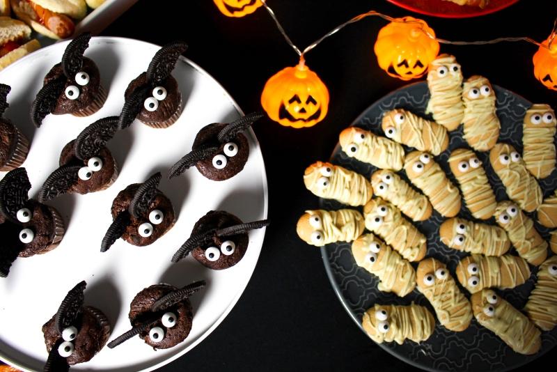 oben 3 - Halloween Snacks für die perfekte Party