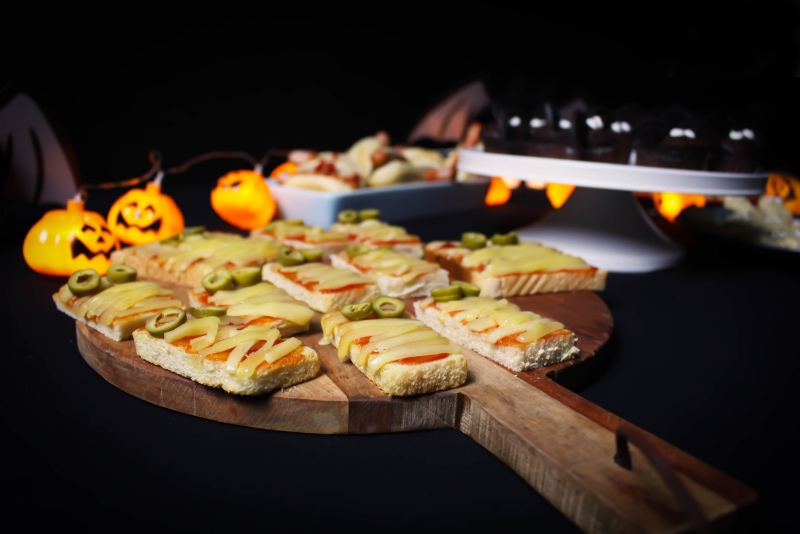 toale toast - Halloween Snacks für die perfekte Party