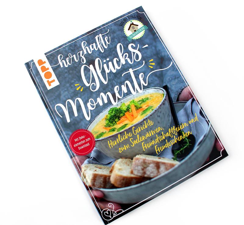 cover - Herzhafte Glücksmomente Kochbuch & Gewinnspiel