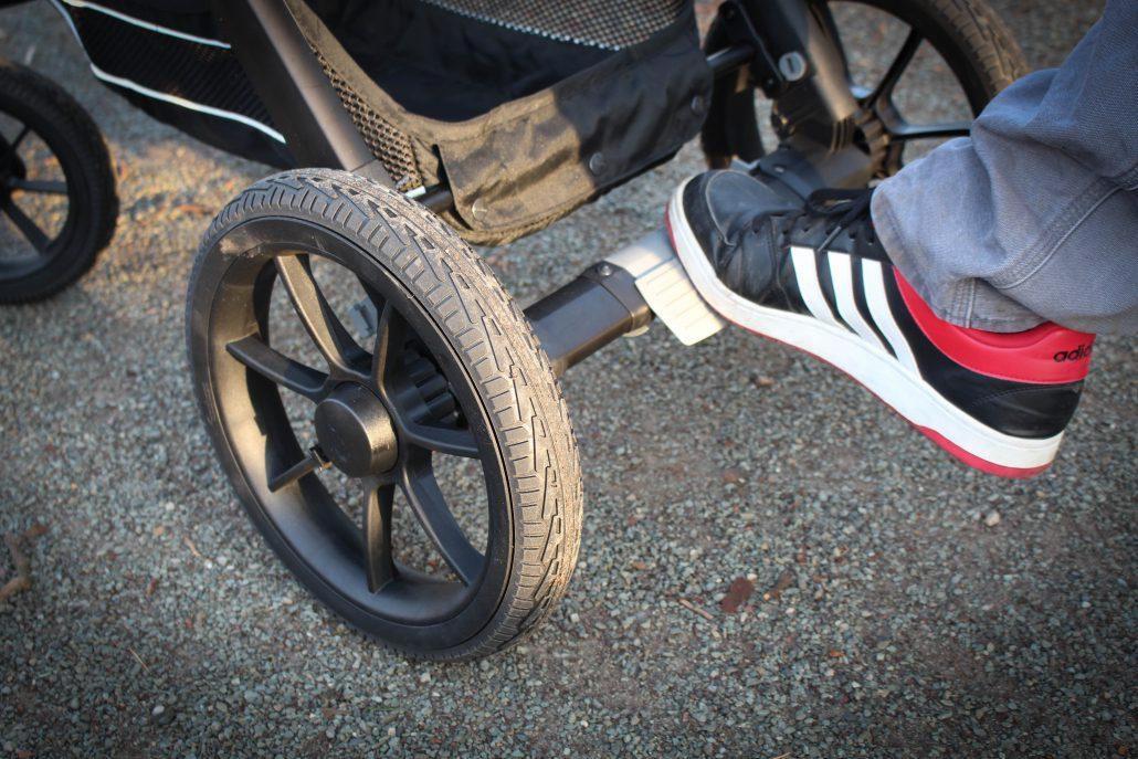 bremse - Emmaljunga Kinderwagen NXT90 F im Test
