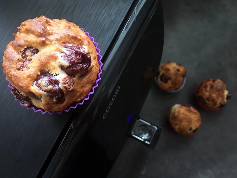 muffin oben - Cosori Heißluftfritteuse im Test