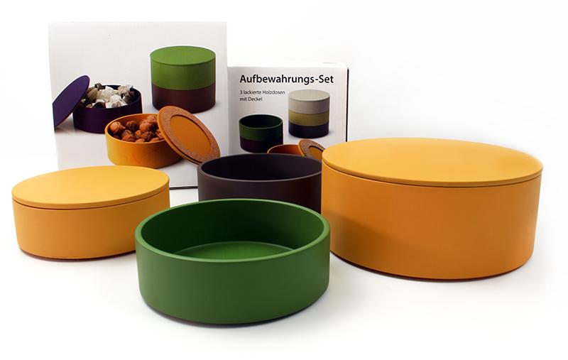 set - Wohnaccessoires in Trendfarben