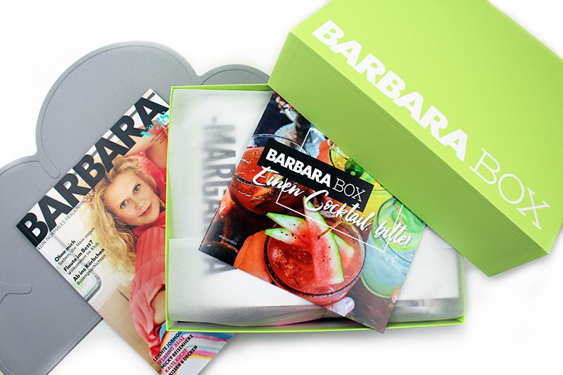 oben - Einen Cocktail zur Barbara Box
