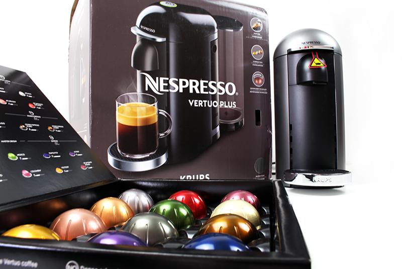 inhalt - Nespresso Vertuo Kapselmaschine