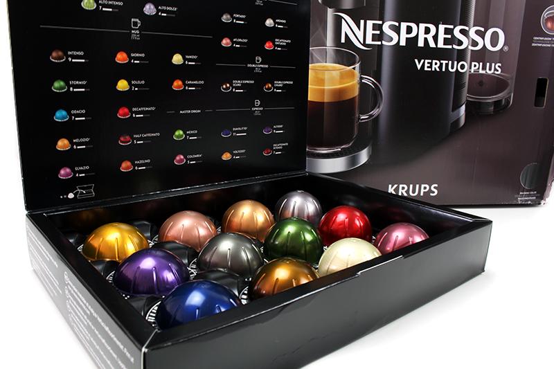 kapseln - Nespresso Vertuo Kapselmaschine