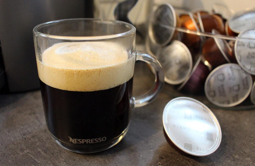 nespresso vertuo kapselmaschine tasse 1024x667 - Nespresso Vertuo Kapselmaschine